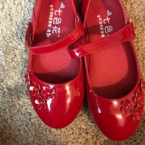 Other - Girls Dark Red Mary Jane Dress Shoe